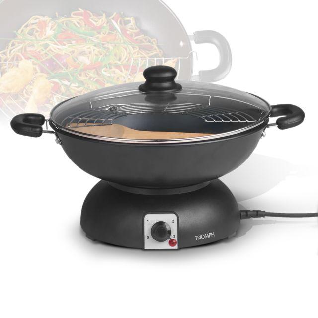 Triomph Muli wok électrique - 3.5L 1200W - Etf1513