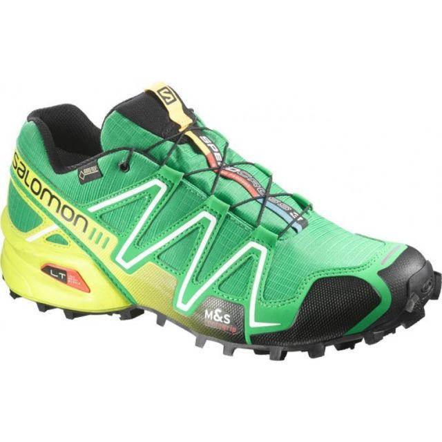 049212f21db8 Salomon - Salomon Speedcross 3 Gtx Verte Chaussures trail etanche salomon