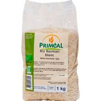 Primeal - Riz Basmati Blanc Sachet 1 Kg