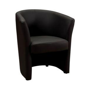 Générique Fauteuil Cabriolet Belize Noir Pas Cher Achat Vente - Fauteuil crapaud cuir noir