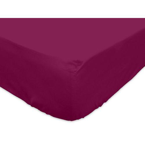 soleil d 39 ocre drap housse jersey en coton 160x200 cm cassis par pas cher achat vente draps. Black Bedroom Furniture Sets. Home Design Ideas