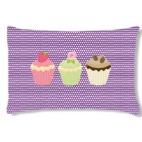 Cbkreation - Coussin rectangulaire 3 Cupcakes by