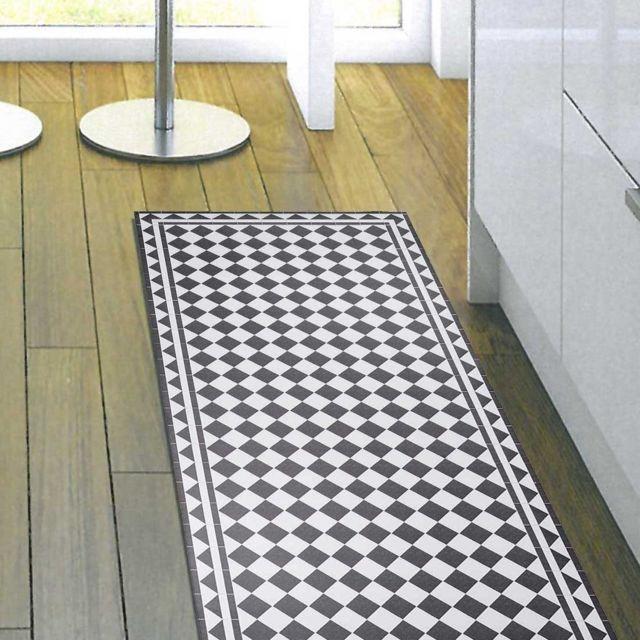 un amour de tapis tapis de salon moderne design vinyle barcelona fabriqu en europe gris. Black Bedroom Furniture Sets. Home Design Ideas