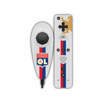 SUBSONIC - PACK MANETTE POUR Wii™ & Wii U™ - OLYMPIQUE LYONNAIS