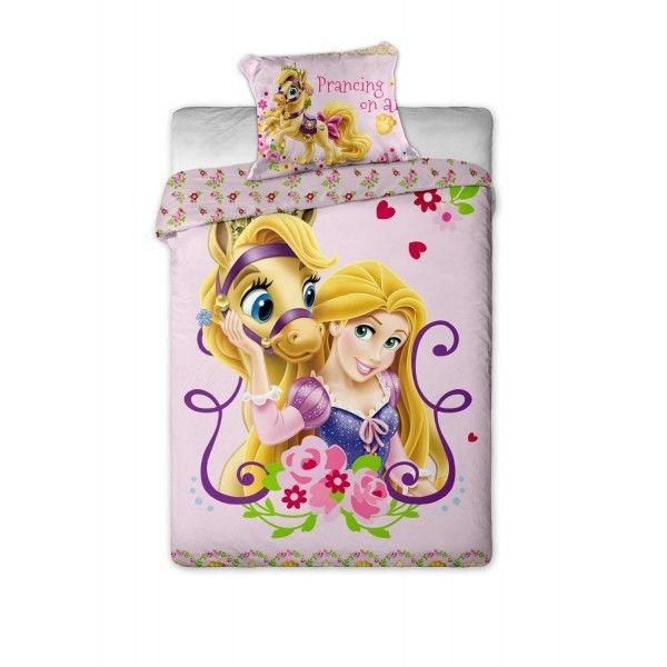 Disney princesses parure de lit princesse raiponce - Tour de lit princesse disney ...