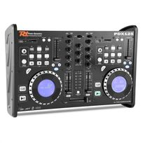 POWER DYNAMICS - PDX125 table de mixage controleur 2 canaux lecteur CD Dual-DJ USB SD MP3