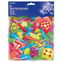 Riethmuller - Sachet de 48 Pieces Party Fun - multicolore