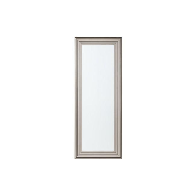 BELIANI Miroir argenté 50 x 130 cm CHATAIN - argent