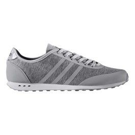 Adidas Chaussures neo Cloudfoam Style Racer Tm gris blanc