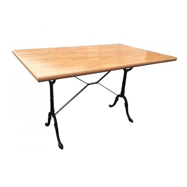 G n rique le depot bailleul table rectangulaire salle manger pas cher achat vente for Carrefour table a manger