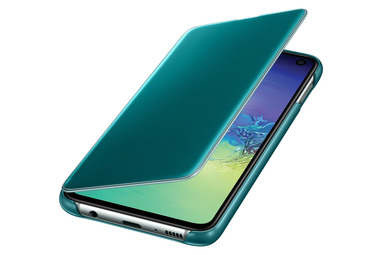 Samsung - Clear View Cover Galaxy S10e - Vert - Coque, étui ...