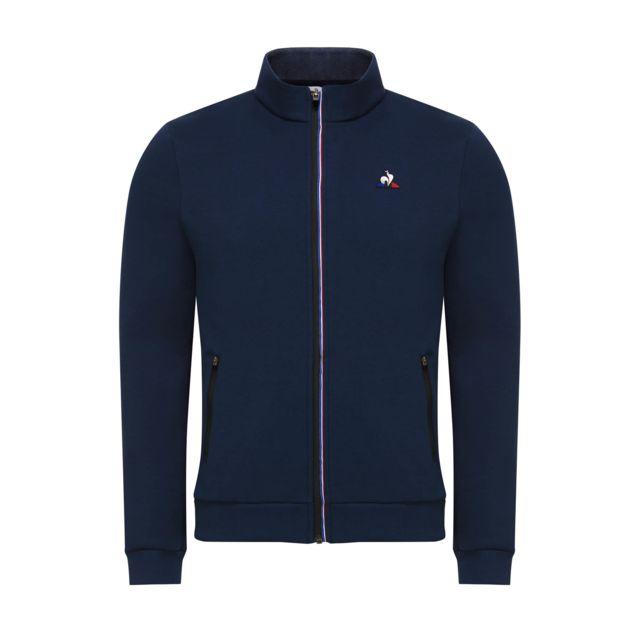 le coq sportif veste veste zippe lcs tech pas cher achat vente surv tements shorts. Black Bedroom Furniture Sets. Home Design Ideas