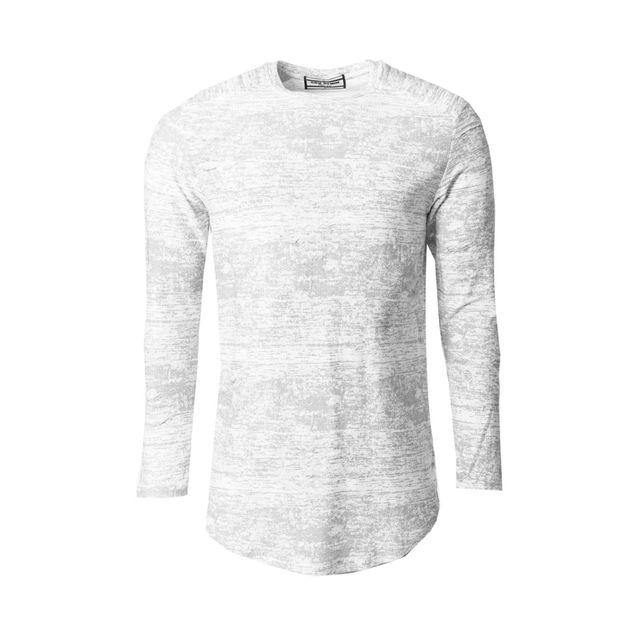 Gov Denim - T-shirt oversize manches longues homme gris 162013 GY L - pas  cher Achat   Vente Tee shirt homme - RueDuCommerce 200cd72d54c
