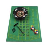 Longfield - Set De Roulette 30 Cm Complet - Jeu De Casino
