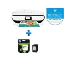 HP - OfficeJet 5232 multifonction 3 en 1 + F6U68AE - Cartouche d'encre 302XL Noir