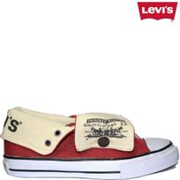 Levi's - Horse Hi Top rouge converse, haute, all star, rouge