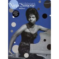Faber - Partitions Jazz&blues Music Simone Nina - Piano Songbook Vol.2 Pvg Piano, Voix, Guitare