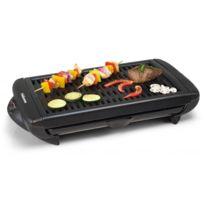 Tristar - Barbecue design de table en aluminium 1300W - Thermostat réglable - Tiroir récupérateur de graisse