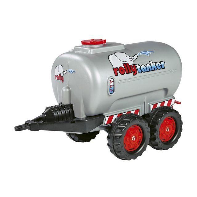 Rolly Toys 122127 RollyTanker - Remorque citerne pour tracteurs à pédales