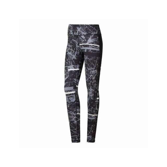 Reebok Legging Workout Ready Motion Dot Commercial Noir Femme Pas Cher Achat Vente Pantalons Calecons Rueducommerce