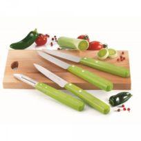 Nogent 3 Etoiles - Coffret 3 couteaux et 1 éplucheur Color