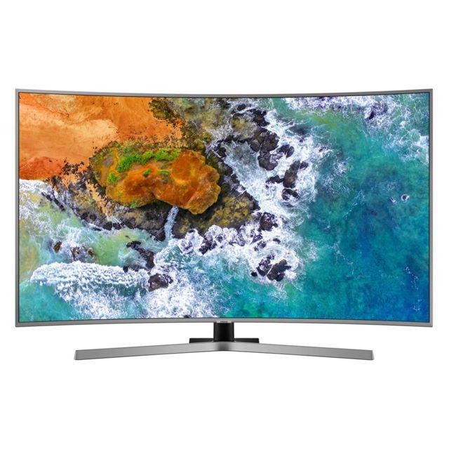 """365c548c7ee73d Samsung Smart TV LED 65"""" 4K UHD incurvé pas cher - Achat   Vente TV LED 32    et moins - RueDuCommerce"""
