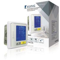 König - Tensiomètre poignet Bluetooth 4.0 Blanc
