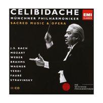 Emi Classics - Sacred music and opéra - Coffret 11 Cd