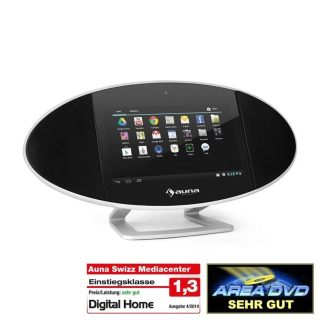 AUNA Swizz Mediacenter Android Touchscreen 18cm 7
