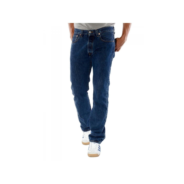 LEVI S- Levis - Jean - Homme - 501 Original - Dark Bleu Stone Classic - 70e60945836e