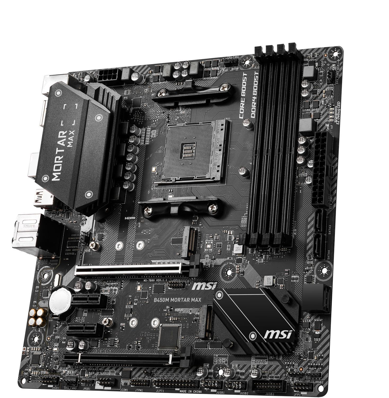 Carte mère AMD B450 Mortar Max MSI