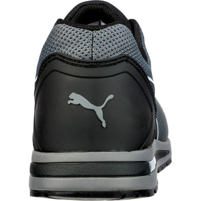 Puma Basket de sécurité Elevate Knit Black Low S1P Esd Hro