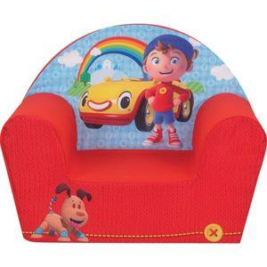 jemini fauteuil club mousse oui oui bleu rouge pas. Black Bedroom Furniture Sets. Home Design Ideas