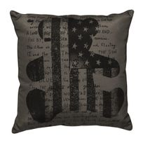L3C - Coussin 40x40 Lulu Flag Bear Anthracite