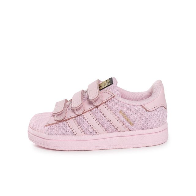 Adidas originals - Superstar Nylon Bébé Rose 22