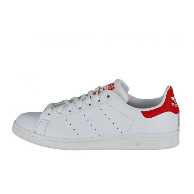 timeless design 702cc 08e93 Adidas originals - Basket Stan Smith - Ref. M20326 Blanc - 40 23 - pas  cher Achat  Vente Baskets homme - RueDuCommerce