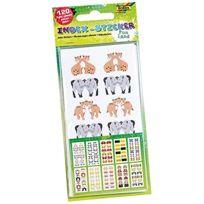 Bringmann - Folia 1420-INDEX Sticker Funland Lot De 120