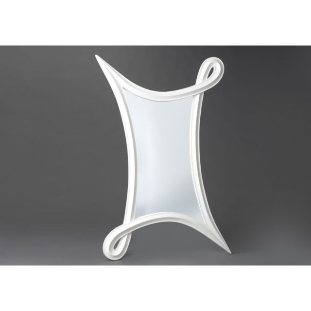 Autre Miroir Urban Blanc H120
