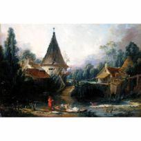 Dtoys - Puzzle 1000 pièces : François Boucher : Paysage près de Beauvais