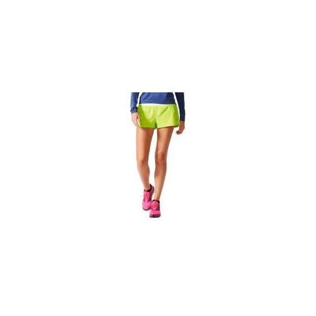 Adidas - Short Grete 3-stripe Woven Short vert anis femme - pas cher Achat    Vente Collants - RueDuCommerce e47773fa6ac