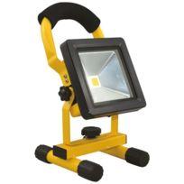 AREV - Projecteur LED 10W rechargeable pour chantier