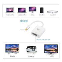 Tbs - 2233 Adaptateur Hd Mini Displayport/thunderbolt vers Vga - résolution 1920 x 1200 et 1080p Full Hd Câble 15cm avec Connexion Plaqué or