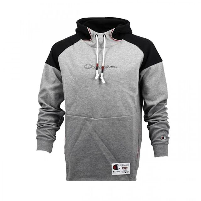 Hooded Pas Sweat Sweatshirt 212176 Champion Em504 Gris Cher OTZuXPik