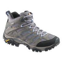 Merrell - Chaussures de randonnée Moab Mid Gtx gris bleu femme
