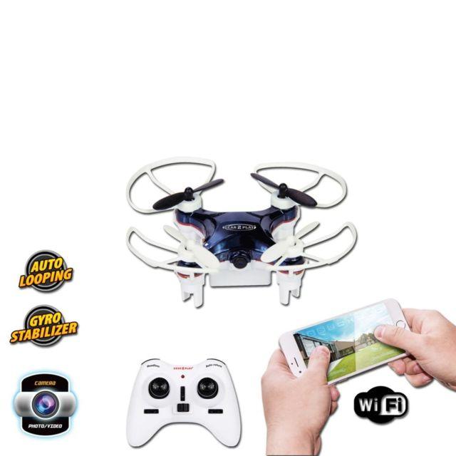No Name Hélicoptères télécommandés Distingué Gear2Play Drone Nano Smart avec caméra Tr80525