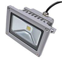 Solairepratique - Projecteur led 12V, 10W, 730 lm