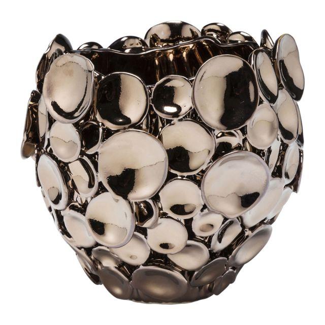 Karedesign Vase Circles cuivre 15cm Kare Design