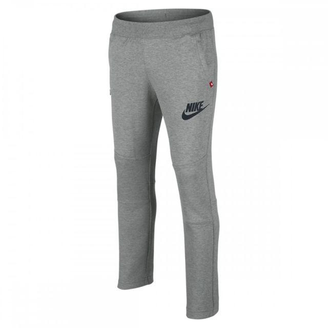 Nike - Pantalon de survêtement Tech Fleece N45 Junior- Ref. 619082-063 -  pas cher Achat   Vente Survêtement enfant - RueDuCommerce 5da5f359c5aa