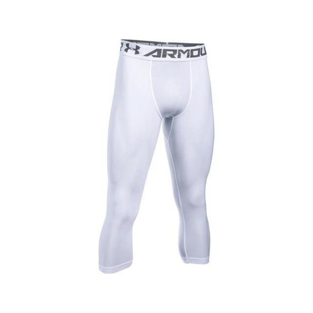 cheap sale various styles new design Legging de compression 3/4 Heatgear 2.0 blanc pour homme Taille - Xxl