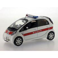 J-collection - Jc099 - VÉHICULE Miniature - ModÈLE À L'ÉCHELLE - Mitsubishi I-miev Police De Hong Kong Police - 2010 - Echelle 1